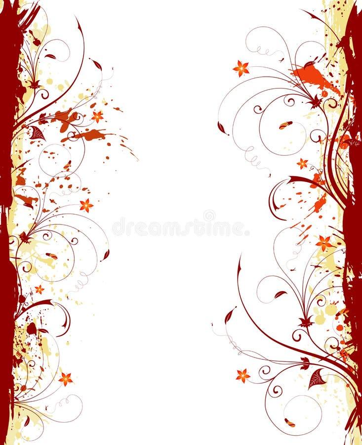 Trame de fleur illustration libre de droits