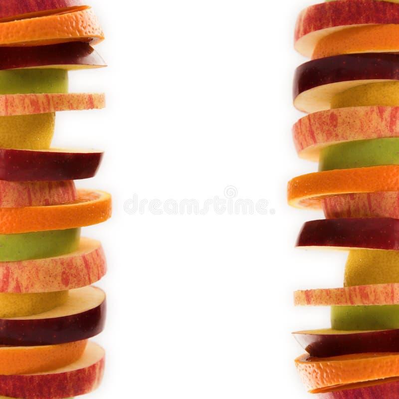 Trame de fruit images libres de droits