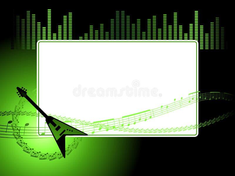 Trame de musique illustration libre de droits