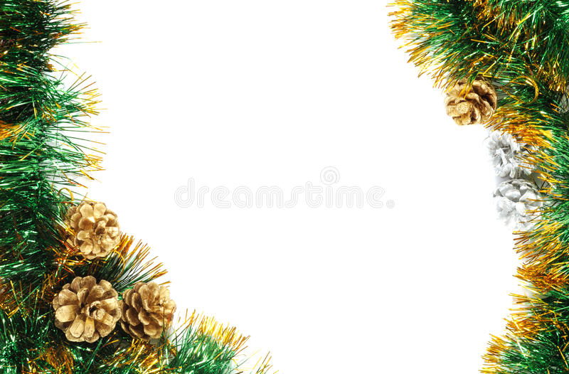Trame de Noël photo stock