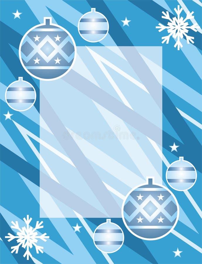 Trame de Noël illustration stock