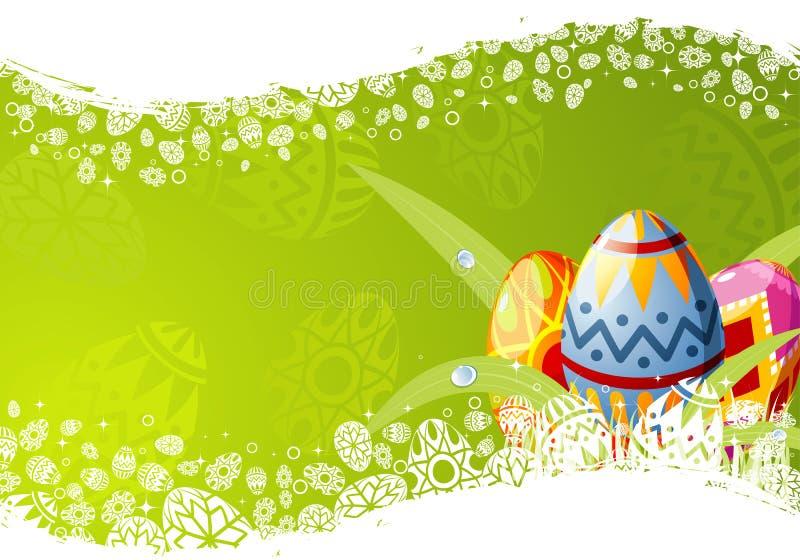 Trame de Pâques illustration de vecteur