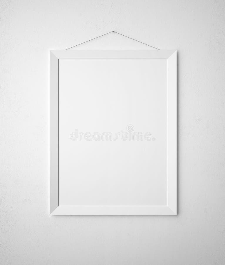 Trame de papier blanc illustration libre de droits