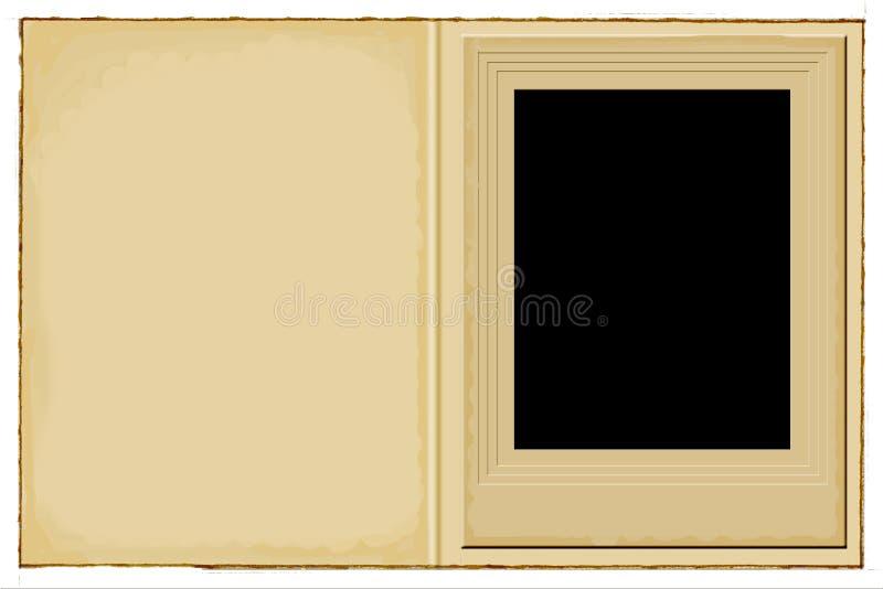 trame de photo illustration de vecteur
