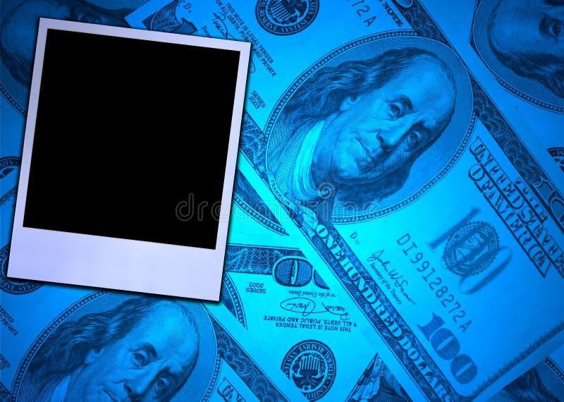 Trame de photo d'argent et d'impression photos libres de droits