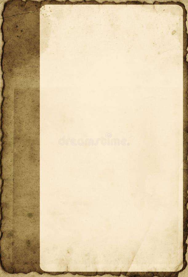 Trame de photo de cru illustration de vecteur