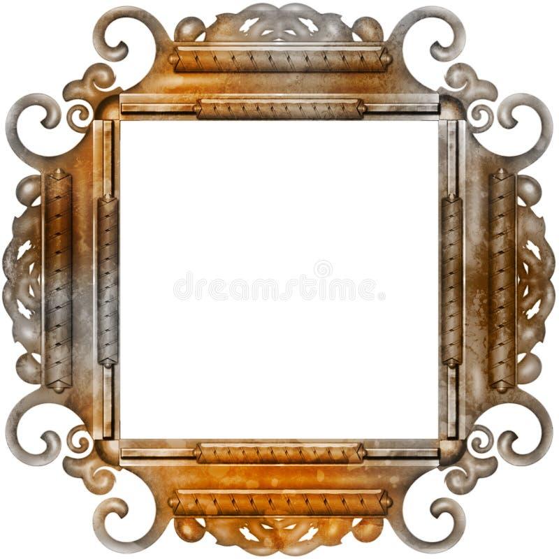 Trame de photo de cru avec les configurations chiques photos stock