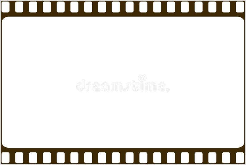 Trame de photo de film illustration de vecteur
