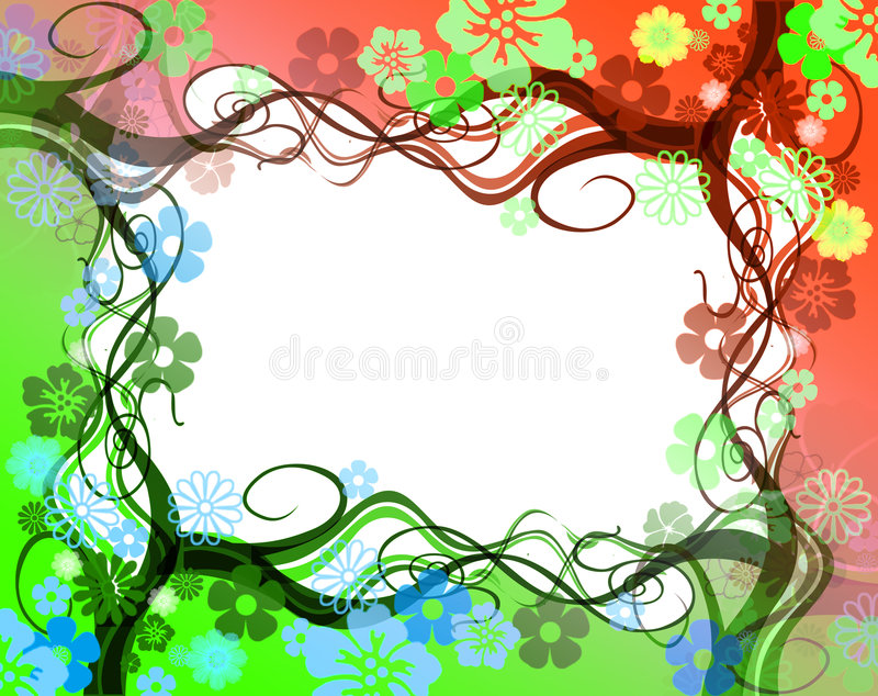 Trame de remous illustration stock