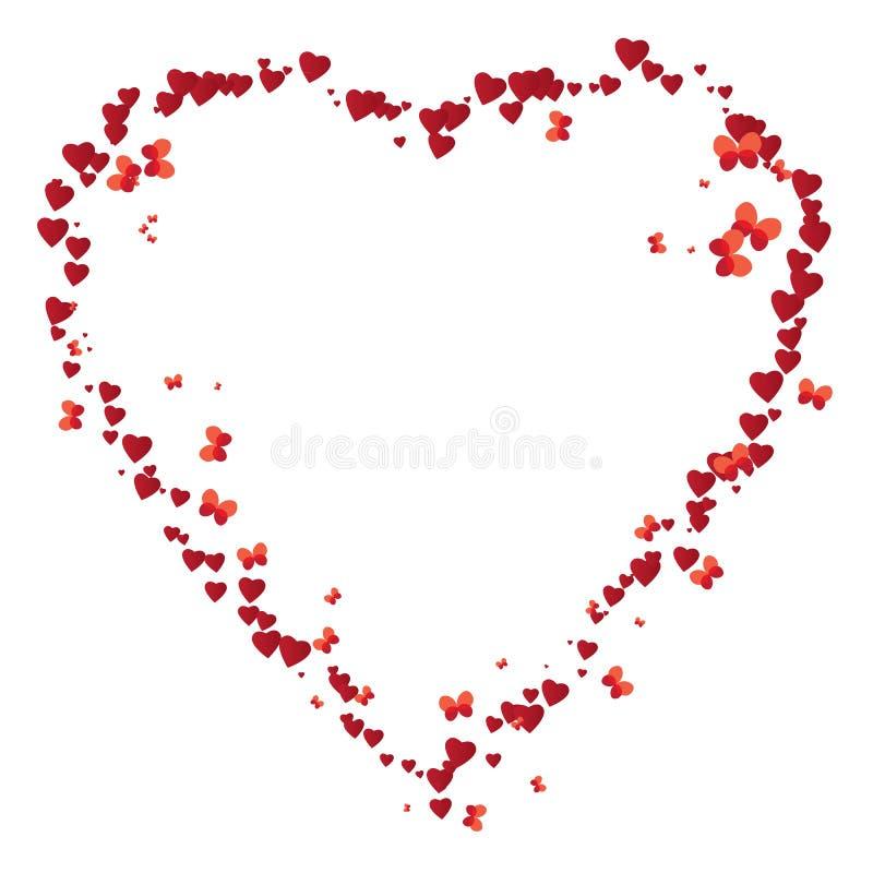 Trame de Valentine illustration de vecteur