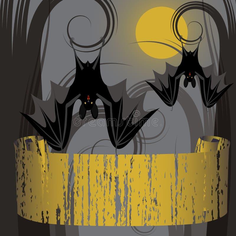 Trame de Veille de la toussaint illustration stock