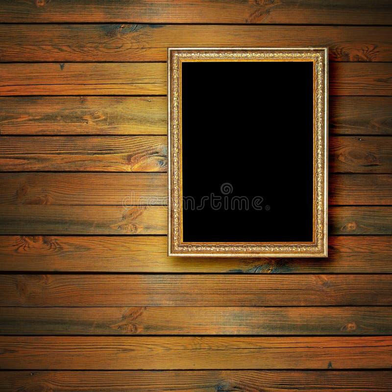 Cadre doré photos stock