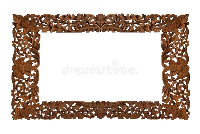 Trame en bois découpée photos stock