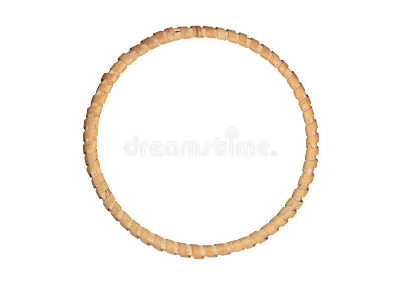 Trame en bois d'illustration ronde photographie stock libre de droits