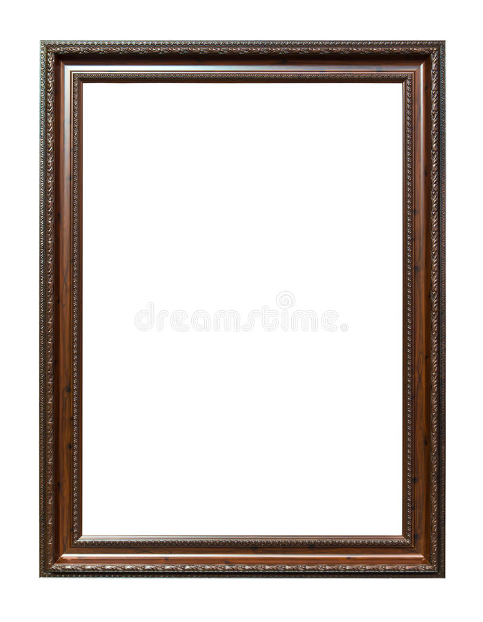 Trame en bois d'image de photo de brun antique de type photos stock