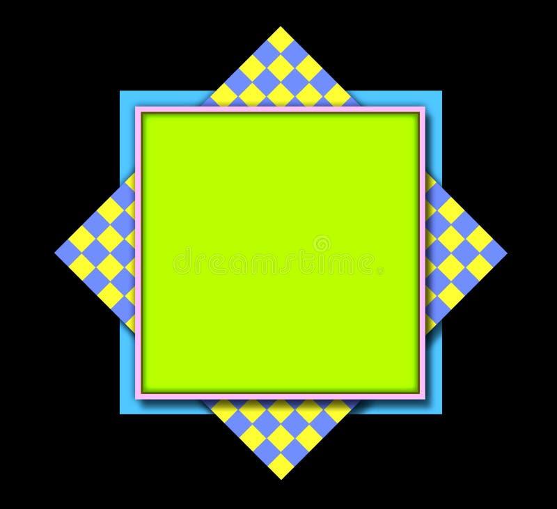 Trame-fond de couvre-tapis de place illustration de vecteur