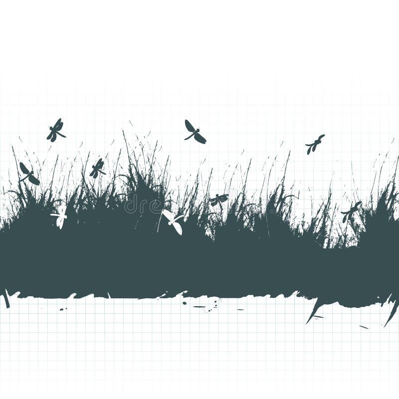 Trame grunge, fond illustration libre de droits