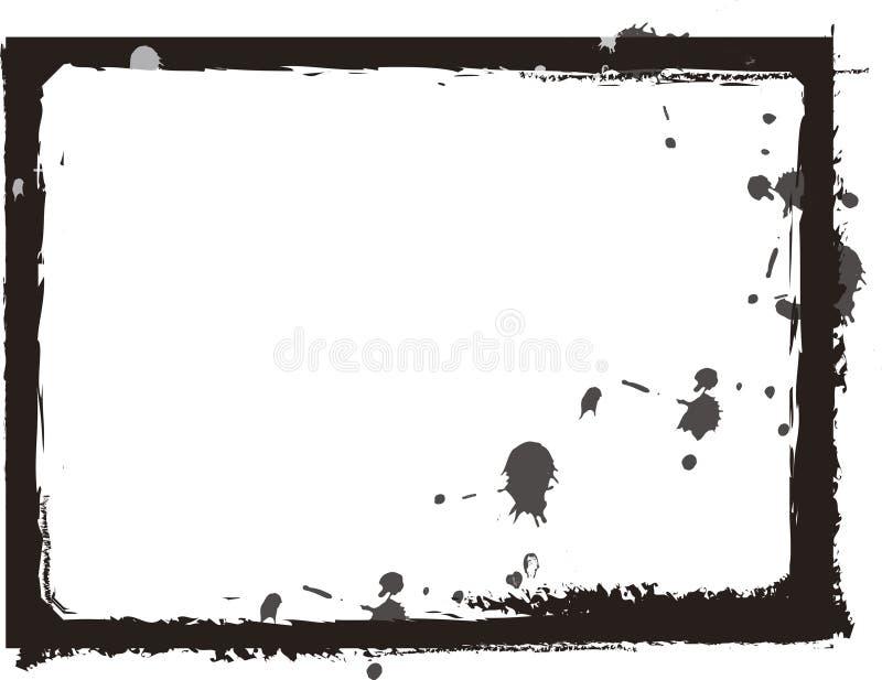 Trame grunge noire illustration de vecteur