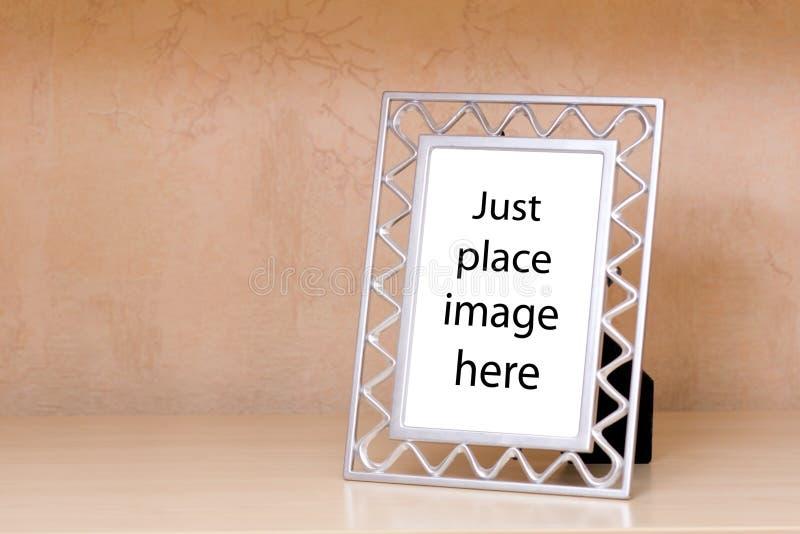 Trame métallique de photo image libre de droits