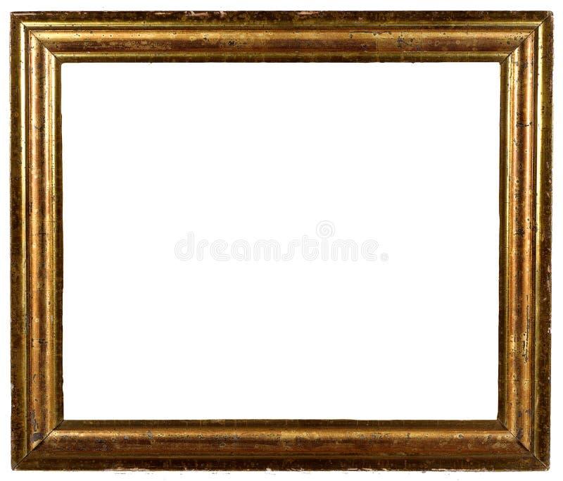 Trame minable antique d'or de cru photographie stock