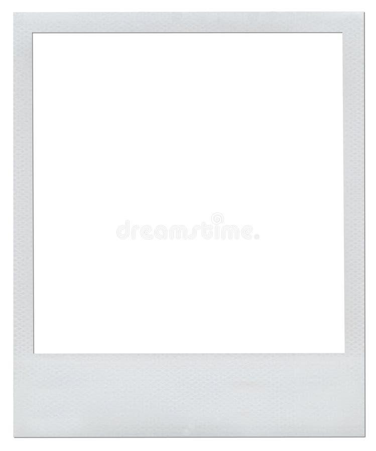 Trame polaroïd blanc illustration libre de droits