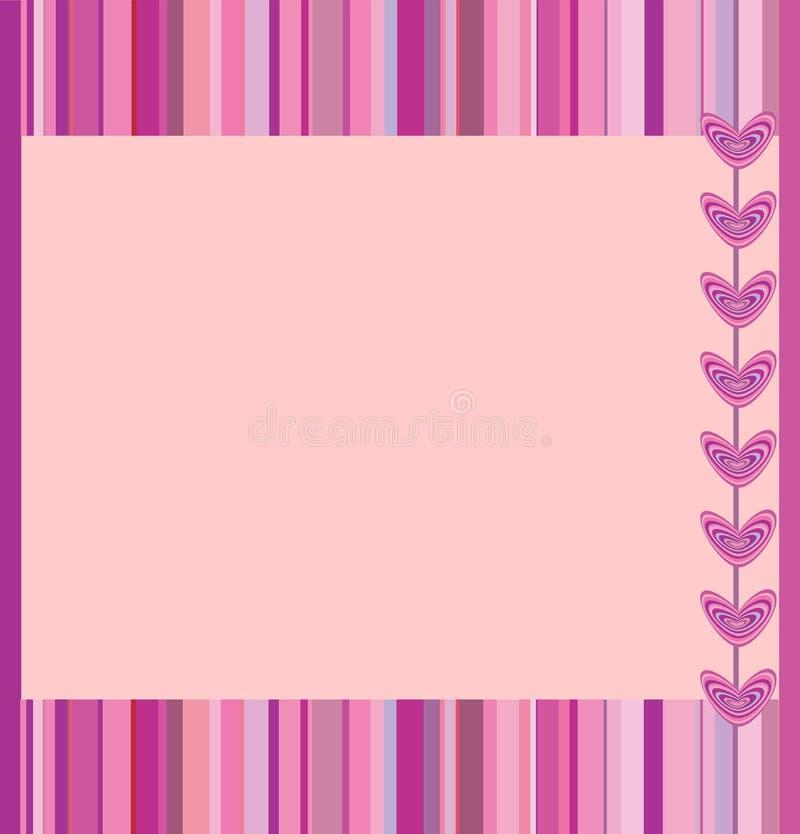 Trame rose illustration de vecteur