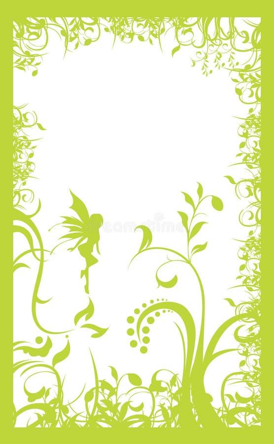 Trame vert clair illustration stock