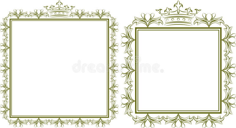 trames illustration stock