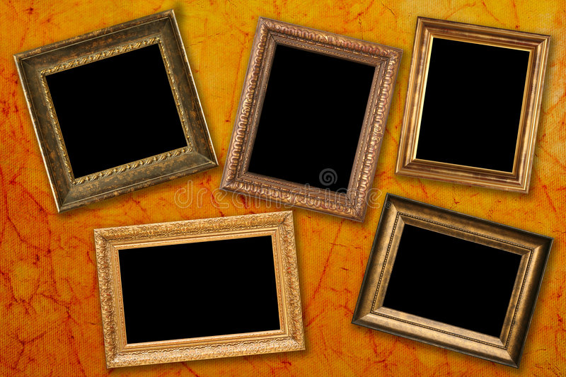 Trames antiques photo stock