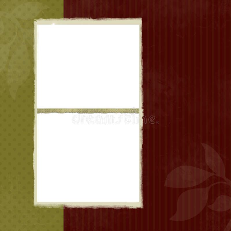 Trames blanc sur le fond décoratif illustration de vecteur