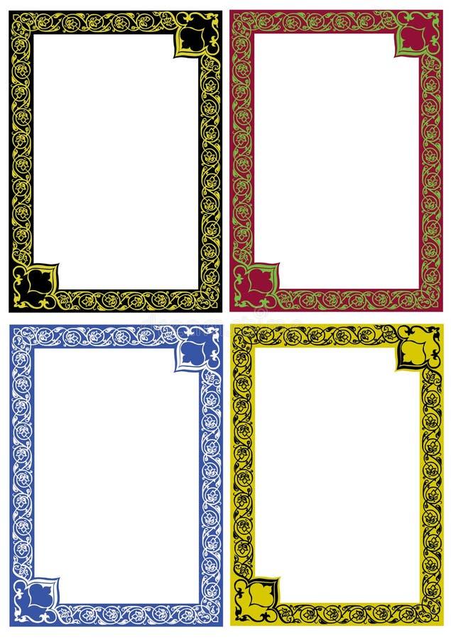 trames de décor illustration de vecteur