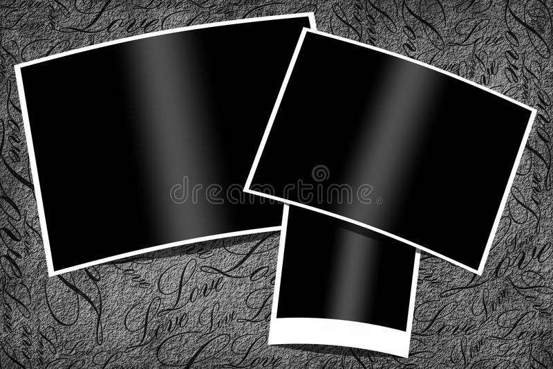 Trames de photo illustration stock