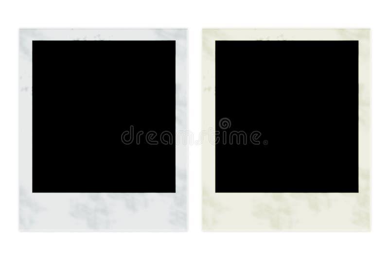 Trames de photo images stock