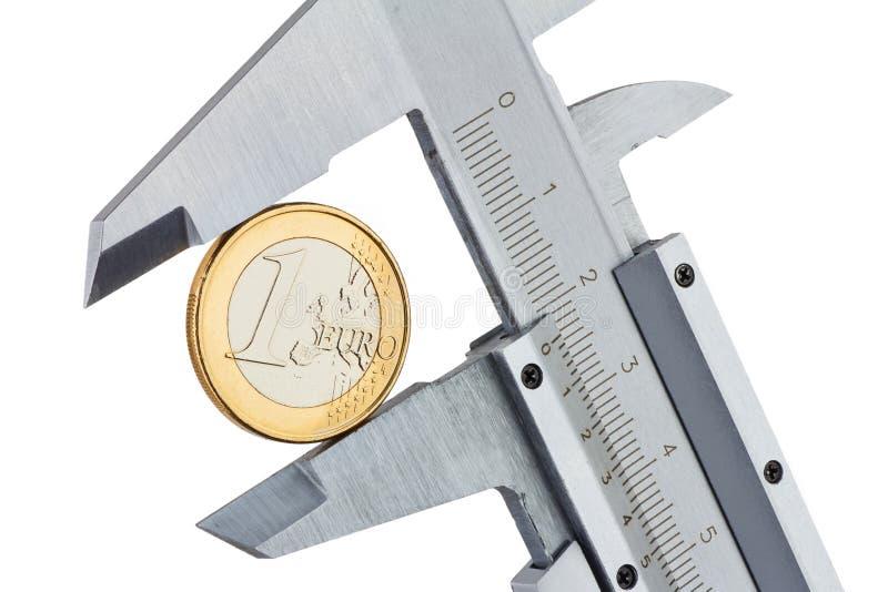 Trammel ευρώ μέτρου στοκ εικόνες