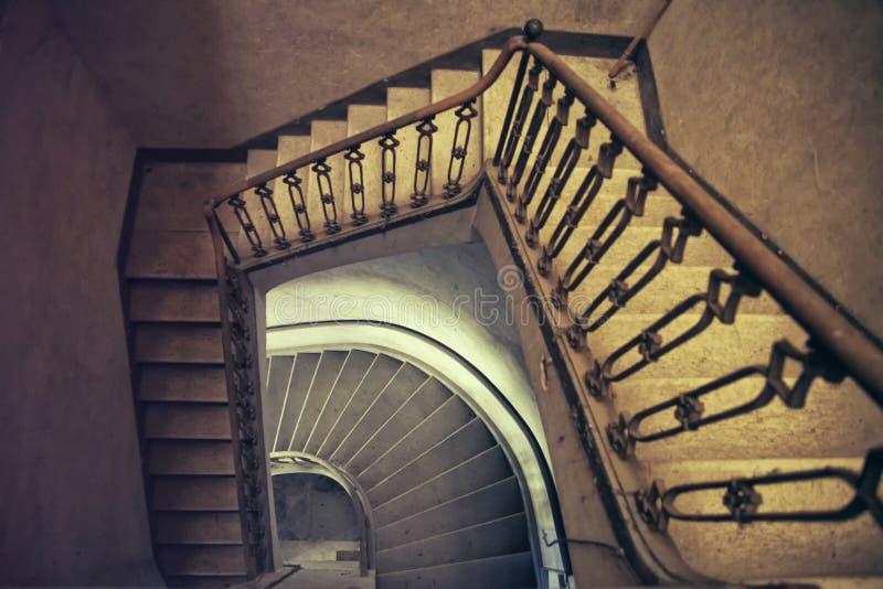 Tramo escaleras imagen de archivo libre de regalías