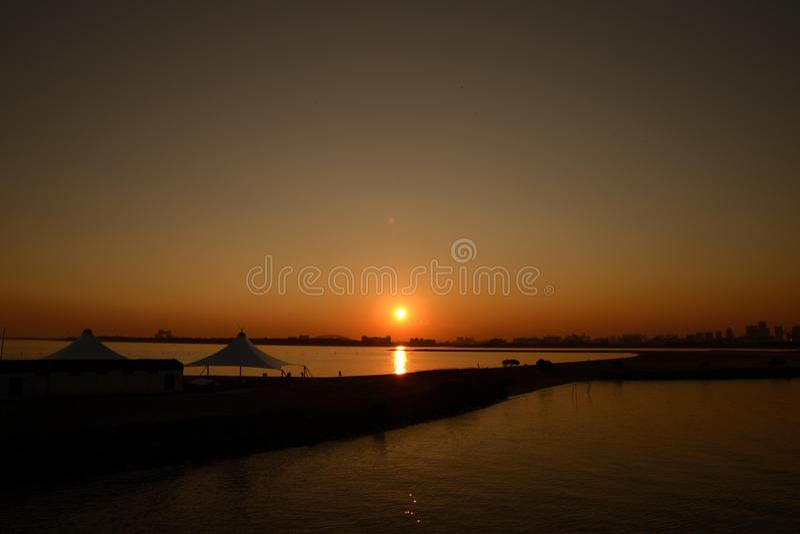 tramonti immagini stock libere da diritti