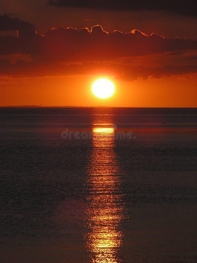 Download Tramonto fotografia stock. Immagine di tramonto, nave, pace - 204672