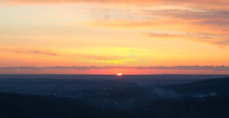 tramonto 免版税库存图片