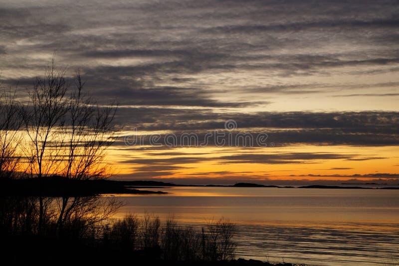 tramonto fotografie stock libere da diritti