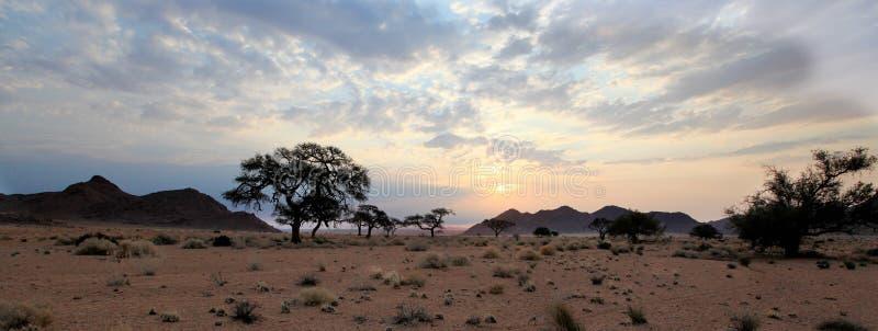 Tramonto in Africa fotografie stock
