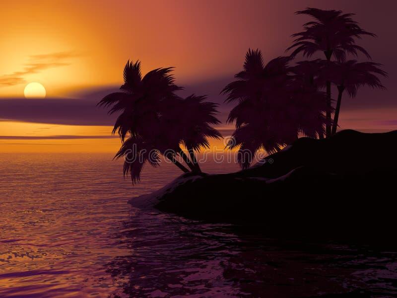 Tramonto, cielo, alba, mare