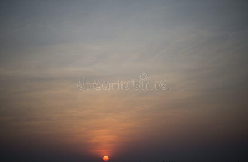 Tramonto dalla città Bangalore fotografie stock