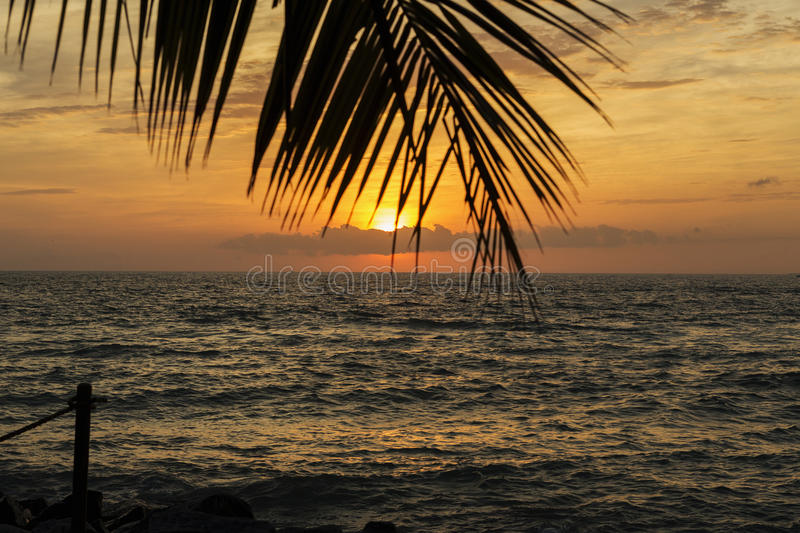Tramonto del Key West immagini stock libere da diritti