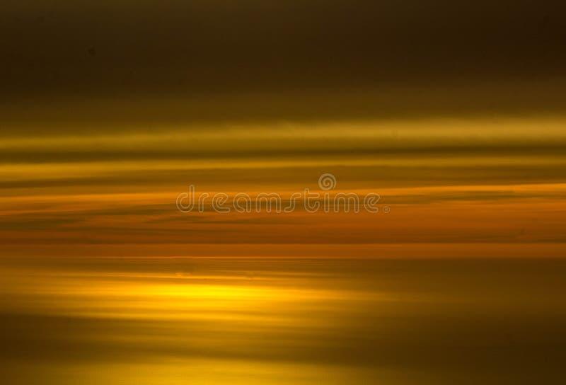 Tramonto dell'occhio delle tigri fotografia stock