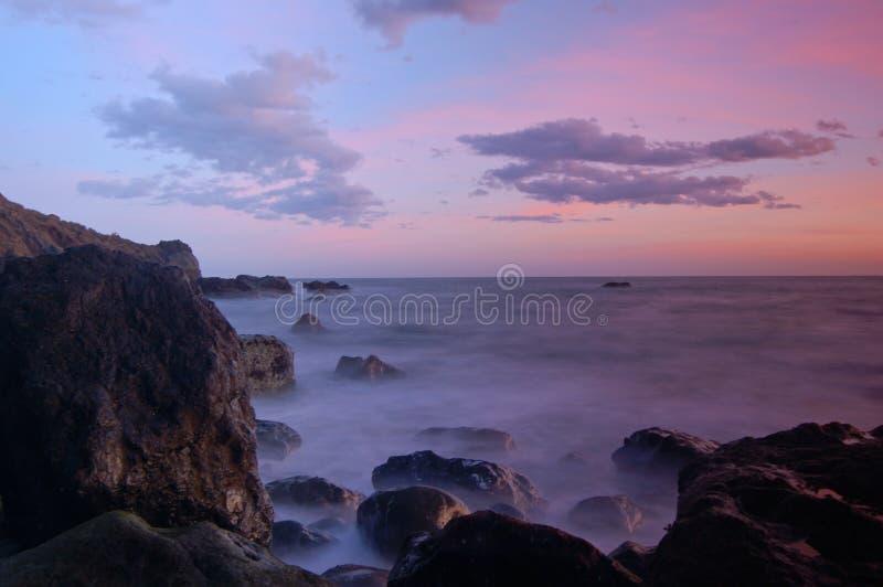 Tramonto della California fotografia stock libera da diritti
