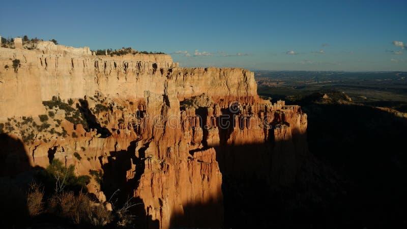 Tramonto di Bryce Canyon fotografia stock libera da diritti