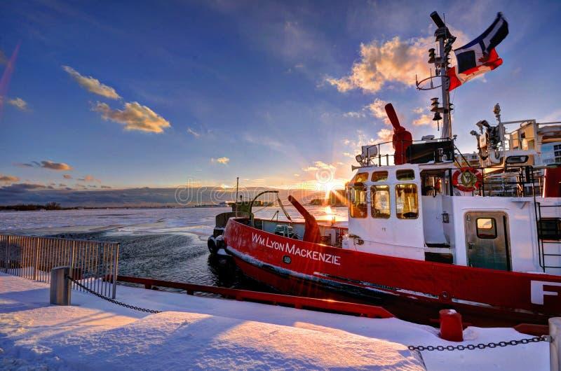 Tramonto di inverno fotografia stock libera da diritti