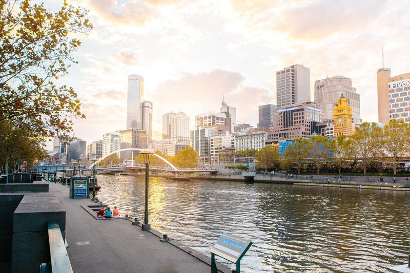 Tramonto di paesaggio urbano immagini stock libere da diritti