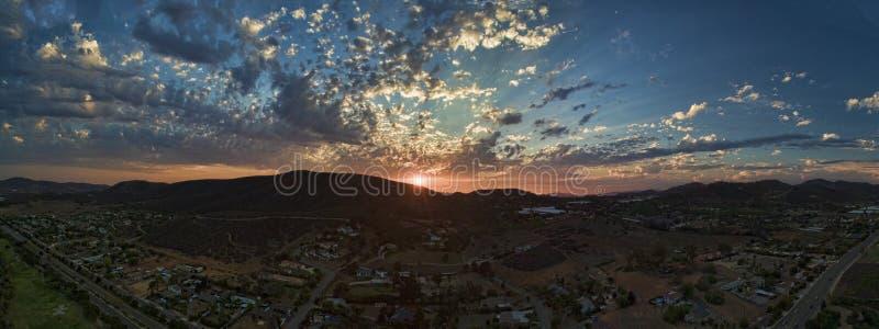 Tramonto di San Marcos immagini stock