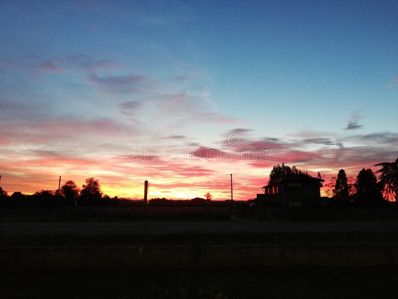 tramonto royalty-vrije stock afbeeldingen